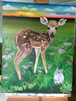 Oil on Canvas 2015